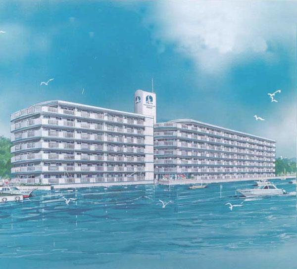 備前市|中古リゾートマンション|日生町|マリンプラザ2000|2LDK|5階部分