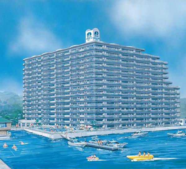 赤穂市|中古リゾートマンション|坂越|マリンプラザ2001|2LDK|11階|角部屋